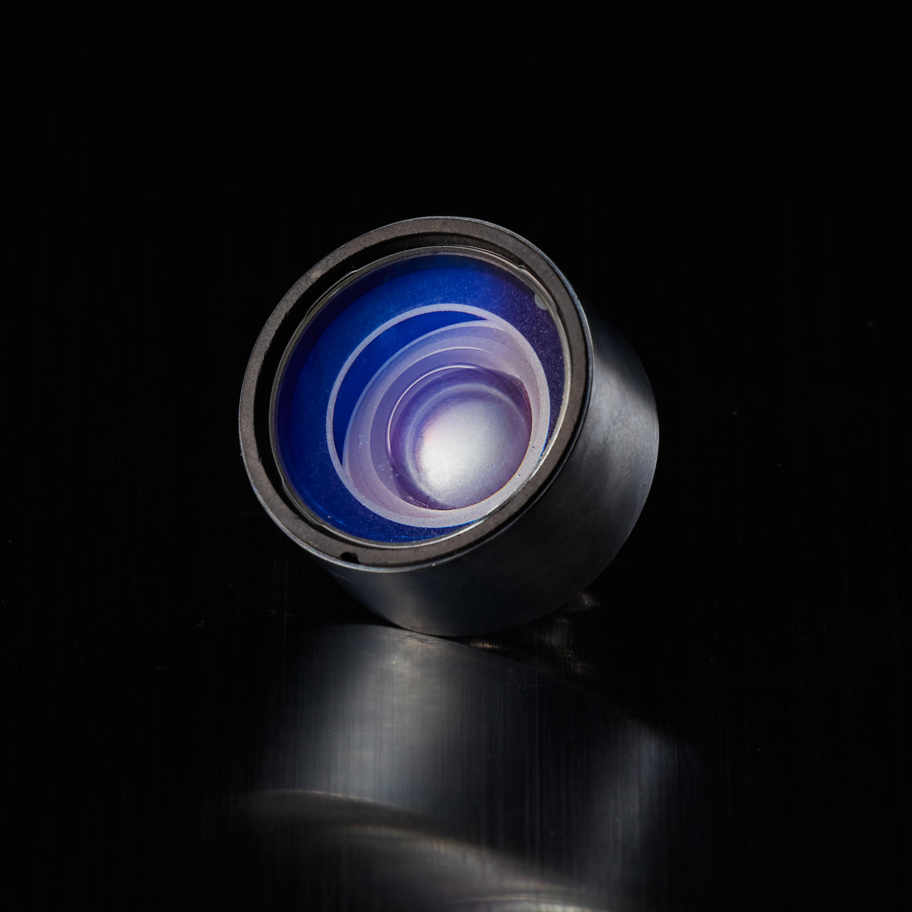 Cam Lens Brooch